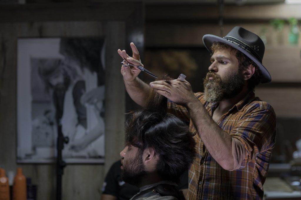 barber shop, iran, cosmetology