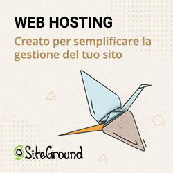 web hosting siteground