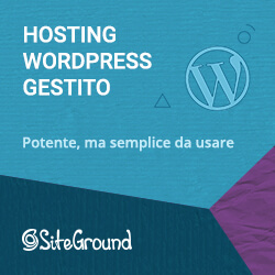 hosting wordpress gestito siteground